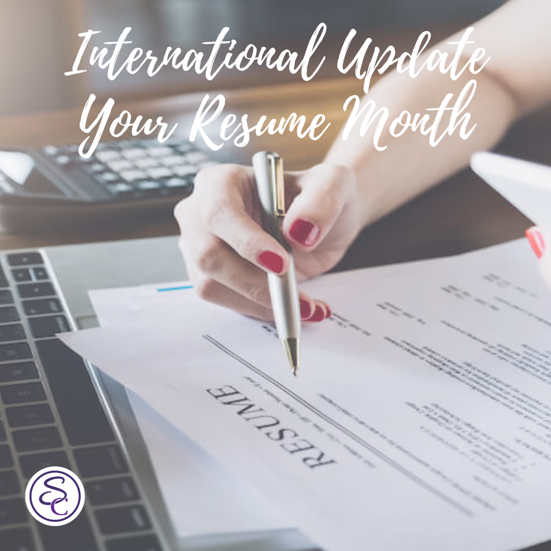 International Update Your Resume Month